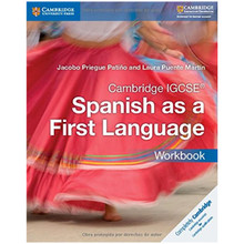 Cambridge IGCSE Spanish as a First Language Workbook - ISBN 9781316632963