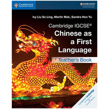 Cambridge IGCSE Chinese as a First Language Teacher's Book - ISBN 9781108434966