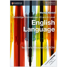 Cambridge International AS & A Level English Language Teacher's Resource CD-ROM - ISBN 9781107692350