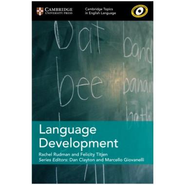 Topics in English Language: Language Development - ISBN 9781108402279