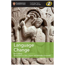 Cambridge Topics in English Language: Language Change - ISBN 9781108402231