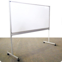 FREE STANDING Mobile Boards with Swivel or Fixed Option and various Board Combinations - Chalk, White and Pinboard.