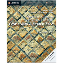 Cambridge International AS & A-Level Mathematics Probability and Statistics 2 - ISBN 9781108407342
