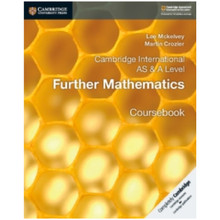 Cambridge International AS & A-Level Further Mathematics Coursebook - ISBN 9781108403375