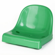Heavy Duty Plastic Stadium Seat - GREEN