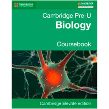 Pre-U Biology Coursebook Cambridge Elevate Enhanced Edition (2 Years) - ISBN 9781316611678