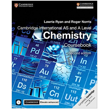 Cambridge International AS & A Level Chemistry Coursebook with CD-ROM and Cambridge Elevate Enhanced Edition (2 Years) - ISBN 9781316637739