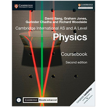 Cambridge International AS & A Level Physics Coursebook with CD-ROM and Cambridge Elevate Enhanced Edition (2 Years) - ISBN 9781316637760