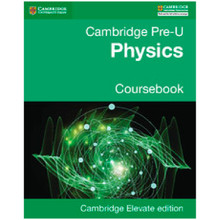 Pre-U Physics Coursebook Cambridge Elevate Enhanced Edition (2 Years) - ISBN 9781316600610