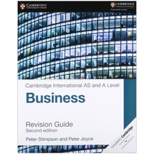Cambridge International AS & A Level Business Revision Guide - ISBN 9781316611708