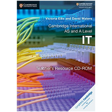 Cambridge International AS and A Level IT Teacher's Resource CD-ROM - ISBN 9781108434775