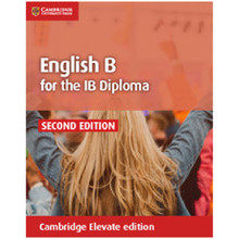 English B for the IB Diploma Coursebook Cambridge Elevate Edition (2 Years) - ISBN 9781108434782