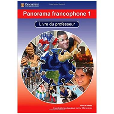 Panorama francophone 1 Livre du professeur avec CD-ROM - ISBN 9781107572607