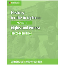 History for the IB Diploma Paper 1 Rights and Protest Cambridge Elevate Edition (2 Years) - ISBN 9781108400435