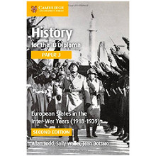 History for the IB Diploma Paper 3: European States in the Interwar Years (1918–1939) - ISBN 9781316506462