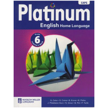 Platinum ENGLISH Home Language Grade 6 Learners Book - ISBN 9780636136113