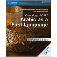 Cambridge IGCSE Arabic as a First Language Teacher's Book - ISBN 9781316636190
