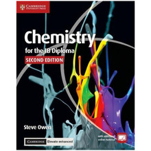 Cambridge Chemistry for the IB Diploma Coursebook with Cambridge Elevate Enhanced Edition (2 Years) - ISBN 9781316637746