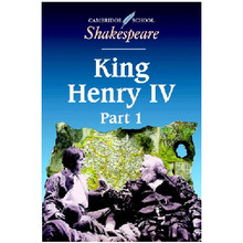 King Henry IV, Part 1 - Cambridge Shakespeare First Editions - ISBN 9780521626897