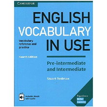 English Vocabulary in Use Pre-Intermediate and Intermediate Fourth Edition - ISBN 9781316628317