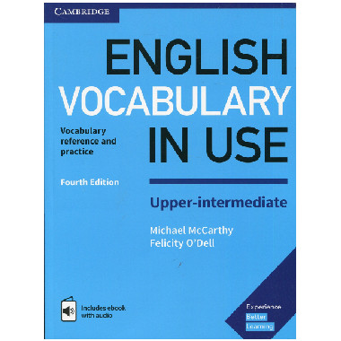 English Vocabulary in Use Upper-intermediate Fourth Edition - ISBN 9781316631744