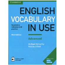 English Vocabulary in Use Advanced Third Edition - ISBN 9781316630068