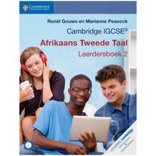 Cambridge IGCSE Afrikaans Tweede Taal Leerdersboek 2 - ISBN 9781108400855