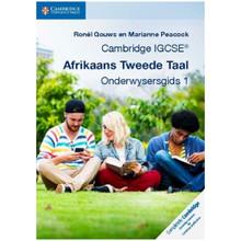 Cambridge IGCSE Afrikaans Tweede Taal Onderwysersgids 1 Elevate Edition - ISBN 9781316675717