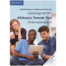 Cambridge IGCSE Afrikaans Tweede Taal Onderwysersgids 2 Elevate Edition - ISBN 9781108231480