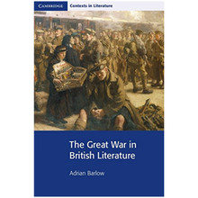 The Great War in British Literature - ISBN 9780521644204