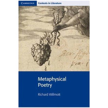 Metaphysical Poetry (Cambridge Contexts in Literature) - ISBN 9780521789608