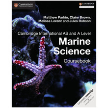Cambridge International AS and A Level Marine Science Coursebook - ISBN 9781316640869