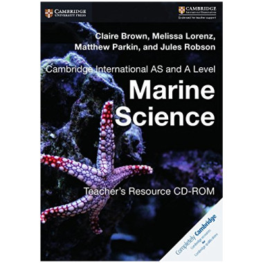 Cambridge International AS and A Level Marine Science Teacher's Resource CD-ROM - ISBN 9781316643631