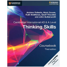 Cambridge International AS & A Level Thinking Skills Coursebook - ISBN 9781108441049