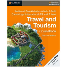 Cambridge International AS and A Level Travel and Tourism Second Edition Coursebook - ISBN 9781316600634