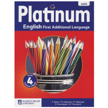 Platinum ENGLISH First Additional Language Grade 4 Learners Book - ISBN 9780636135697