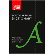 Collins Gem South African Dictionary - ISBN 9780008146436
