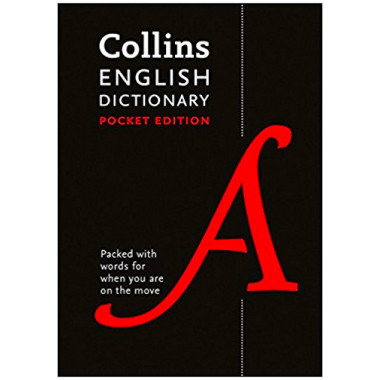 Collins English Dictionary Pocket Edition (Tenth Edition) - ISBN 9780008141806