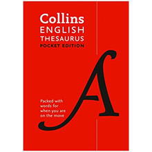 Collins English Thesaurus Pocket Edition (Seventh Edition) - ISBN 9780008141820