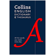 Collins English Dictionary and Thesaurus (Fifth Edition) - ISBN 9780008102876