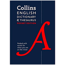 Collins English Dictionary and Thesaurus Pocket Edition (Seventh Edition) - ISBN 9780008141790
