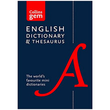 Collins Gem Dictionary and Thesaurus (Sixth Edition) - ISBN 9780008141714