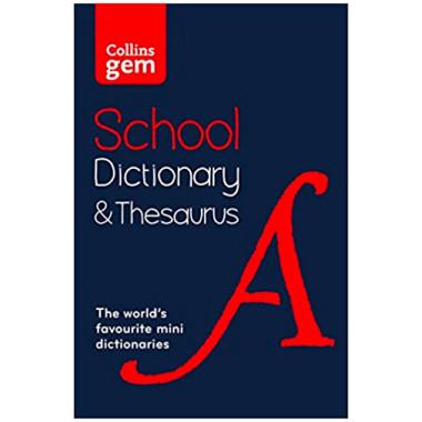 Collins Gem School Dictionary & Thesaurus (Second Edition) - ISBN 9780008102869