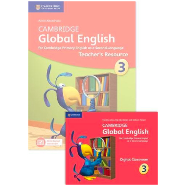 Cambridge Global English Stage 3 Teacher's Resource Book with Digital Classroom - ISBN 9781108409926