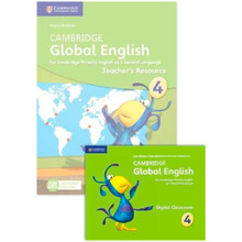 Cambridge Global English Stage 4 Teacher's Resource Book with Digital Classroom - ISBN 9781108409513