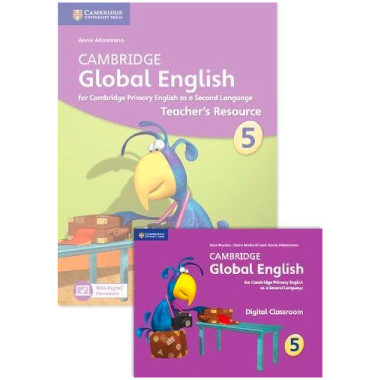 Cambridge Global English Stage 5 Teacher's Resource Book with Digital Classroom - ISBN 9781108409537