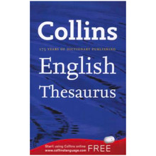 Collins A Format English Thesaurus - ISBN 9780007361656