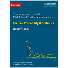AS and A Level Further Mathematics Further Probability and Statistics Student's Book - ISBN 9780008271886
