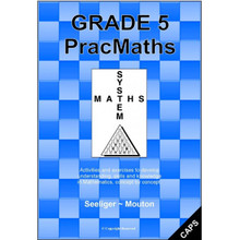Grade 5 Prac Maths Workbook in English (CAPS) - ISBN 9781919906102