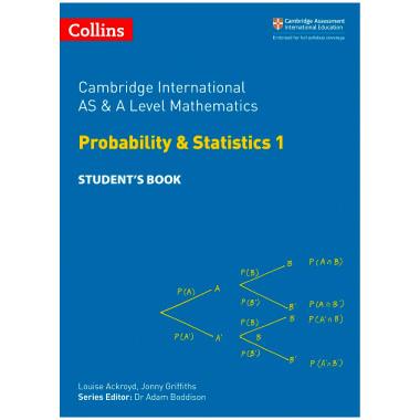 Collins Cambridge AS & A Level Maths Statistics 1 Student's Book - ISBN 9780008257767